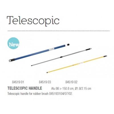 Телескопическая ручка для швабры Sibel Aluscopic Telescopic Handle For Gummi Broom Alu 150Cm