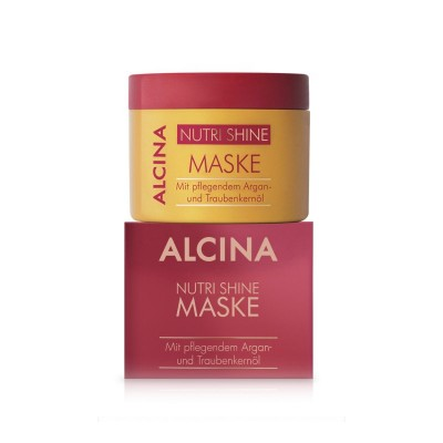 Маска для сухих и поврежденных волос Alcina Nutri Shine Oil Mask
