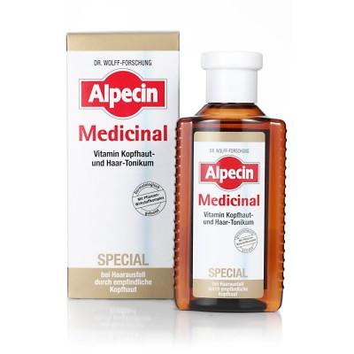 Тоник от выпадения волос из-за чувствительной кожи головы Alpecin Medicinal Special Tonic