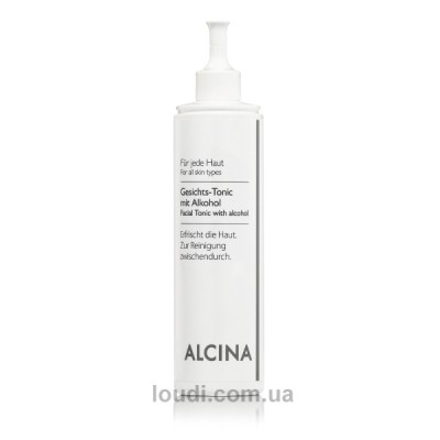Тоник для лица со спиртом Alcina B Facial Tonic With Alcohol