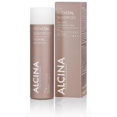 Шампунь для зрелых и истончающихся волос Alcina Age Vital Shampoo