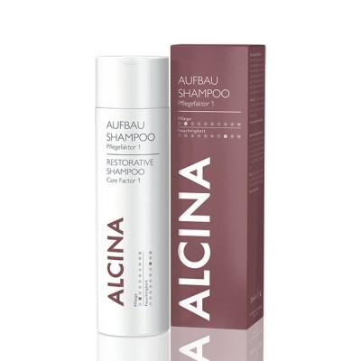 Шампунь для восстановления структуры нормальных волос Alcina Restorative Shampoo Carefactor 1