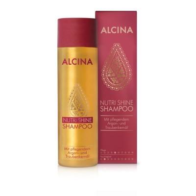 Шампунь для сухих и поврежденных волос Alcina Nutri Shine Oil-Shampoo