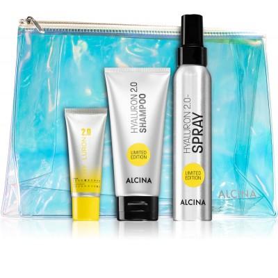 Подарочный набор для волос Alcina Hyaluron Set Limited Edition