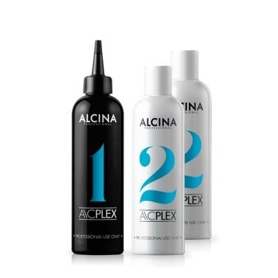 Plex cредство для восстановления волос Alcina AC Plex Set 1+2