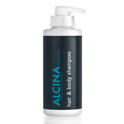 Шампунь и душ-гель мужской Alcina Hair & Body Shampoo For Men