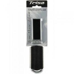 Щетка TRISA для волос складная с зеркалом