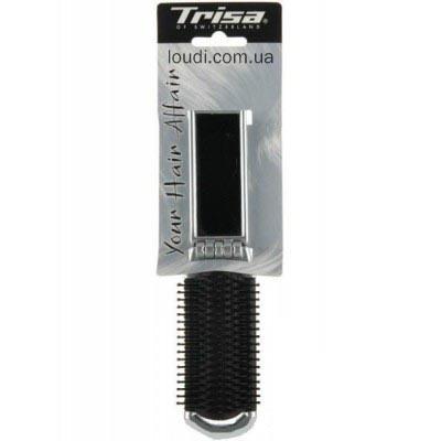Щетка для волос складная с зеркалом Trisa Brush Folding Mirror