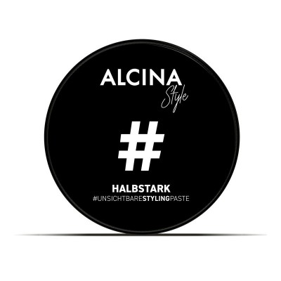 Паста для укладки волос среднесильной фиксации Alcina Halbstark Styling Paste