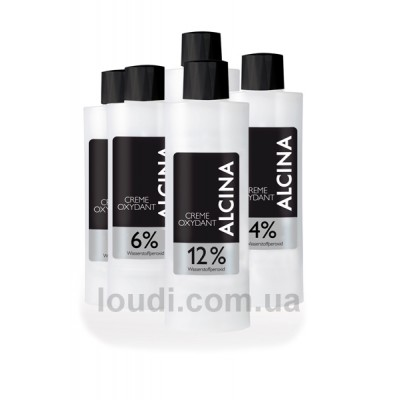 Кремовый окислитель Alcina Color Cream Oxydant
