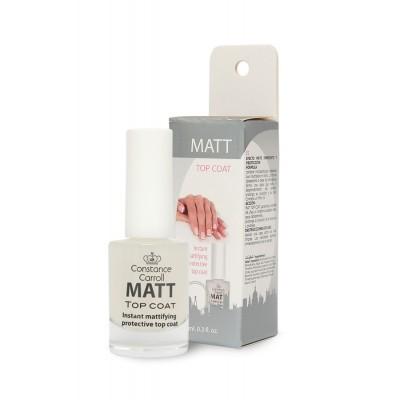 Матовый топ - сушка для ногтей Constance Carroll Nail Treatment Matt Top Coat
