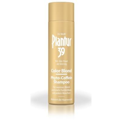 Шампунь от выпадения для светлых волос Plantur39 Color Phyto-Coffein-Shampoo