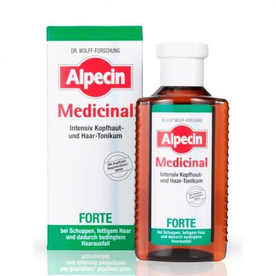 Тоник против перхоти и выпадения волос Alpecin Medicinal Forte Tonic