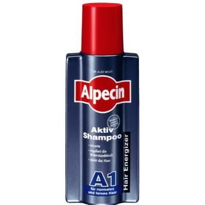 Шампунь для нормальной и сухой кожи головы и волос Alpecin Active Shampoo A1