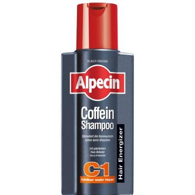 Шампунь с кофеином от выпадения волос Alpecin Caffeine Shampoo C1