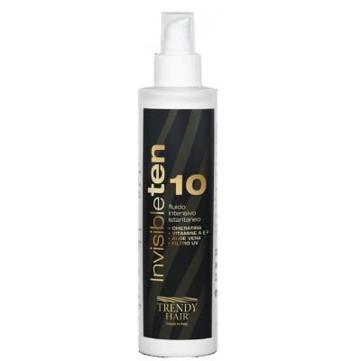 Многофункциональный несмываемый ухаживающий флюид - лечение для волос Trendy Hair Invisible Ten