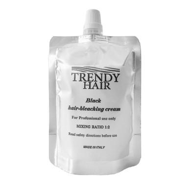 Черный осветляющий крем для волос Trendy Hair Black Bleaching Cream