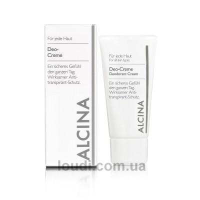 Кремовый Дезодорант Alcina Deodorant Cream