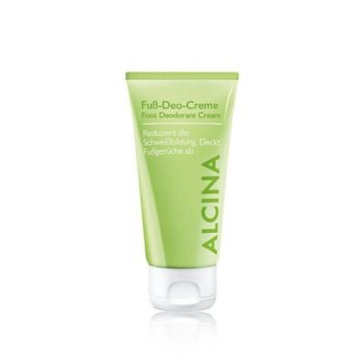 Кремовый дезодорант для ног Alcina Foot Deodorant Cream
