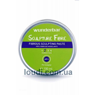 Паста для моделирования волос Wunderbar Sculpter Fiber Paste
