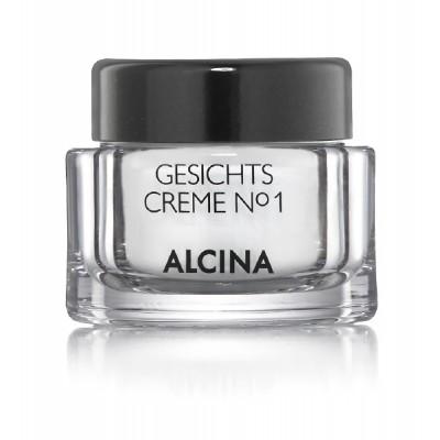Крем для лица №1  Alcina Facial Cream No.1