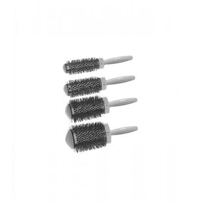 Набор термощеток для укладки волос феном Sibel Combs Set 4Pcs