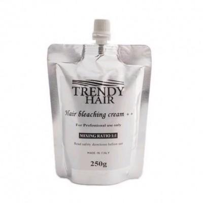 Осветляющий крем для волос безаммиачный Trendy Hair Bleaching Cream ++