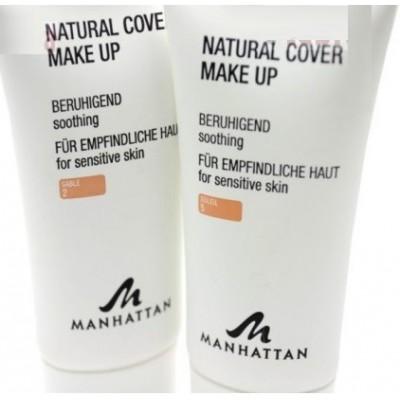 Крем тональный чувствительной кожи Manhattan Natural Cover Make Up
