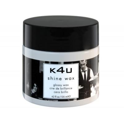 Воск - блеск для укладки волос натуральной фиксации  Kolor4You Glossy Wax