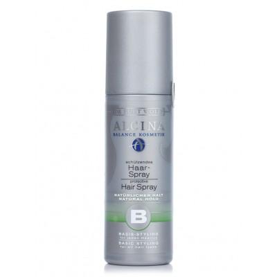 Лак для волос природной фиксации неаэрозольный Alcina-B-Hair-Spray