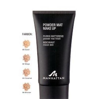 Тональный крем для комбинированной кожи Manhattan Powderm Mat Make up