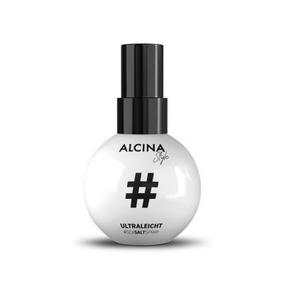 Солевой спрей для укладки волос Alcina Ultra Light Texture Spray