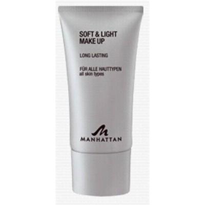 Крем тональный для всех типов кожи ManhattanSoft & Light Make up