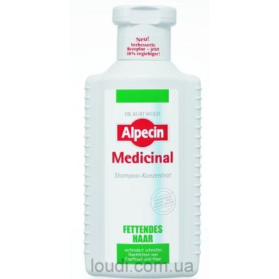 Шампунь-концентрат для жирной кожи головы Alpecin Medicinal Shampoo-Konzentrate