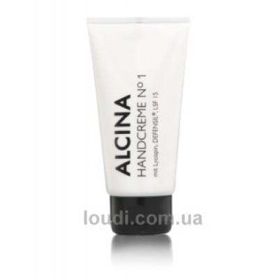 Крем для рук №1 с защитой от ультрафиолета  Alcina Hand Cream No.1