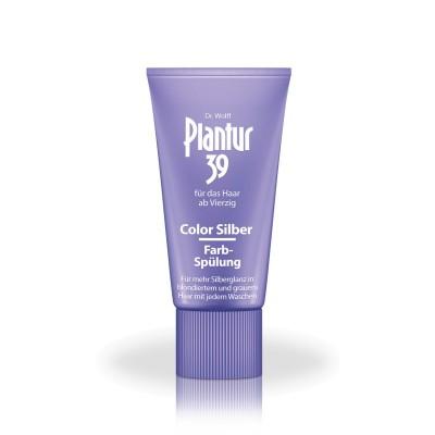 Тонирующий кондиционер от выпадения для светлых и седых волос Plantur39 Color Farb-Spulung