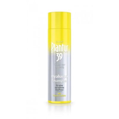 Увлажняющий шампунь от выпадения волос с гиалуроном и кофеином Plantur39 Hyaluron-Shampoo