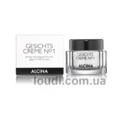 Крем для лица №1  Alcina Facial Cream No.1