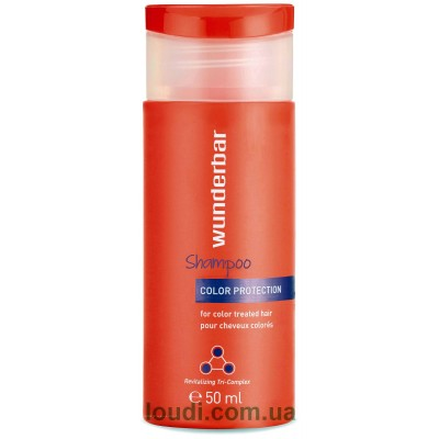 Шампунь восстанавливающий для окрашенных волос Wunderbar Color Protection Shampoo