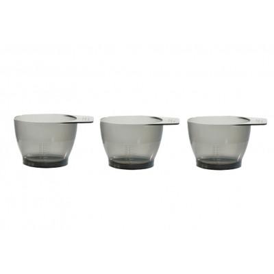 Комплект чаш для смешивания краски для волос Sibel Set 3 Tinting Bowls