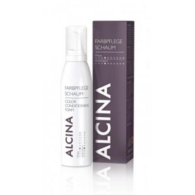 Пена-уход за окрашенными волосами  Alcina Color Conditioning Foam