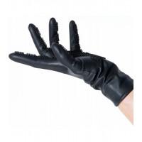 Силиконовые перчатки-расческа