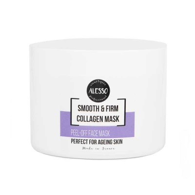 Разглаживающая коллагеновая маска Alesso Peel-Off Face Smoth & Firm Collagen Mask For Ageing Skin