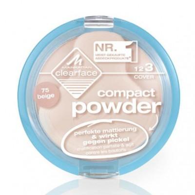 Компактная пудра антибактериальная Manhattan Clearface Compact Powder