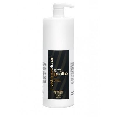 Ревитализирующий антижелтый шампунь для осветленных волос Trendy Hair Anti Giallo Shampoo